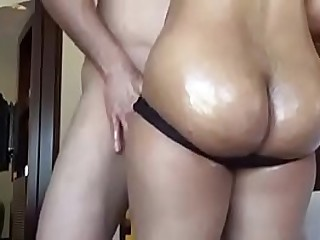 Mature Indian Aunty Seducing Her Nephew In Sleazy Hotel Room