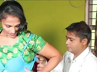 Indian desi mature milf aunty seduce bra distributor