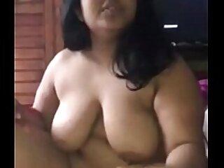 Aunty loves sucking dick of her neighbor