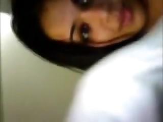 Dilettante Indian stripling On Web Camera
