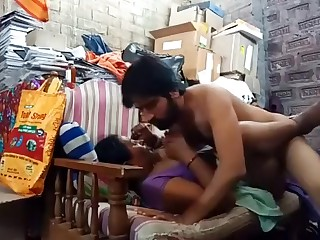 Indian stepmom son bonking in sofa