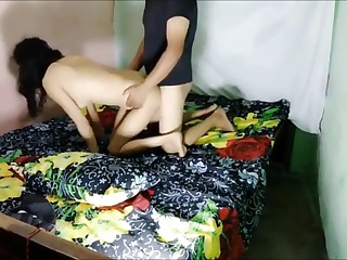 Indian Desi Wife Fucks close to Pussy Plumber Opprobrious talk close to Clear Hindi Audio